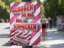 Creative Direction und Konzeptentwicklung einer Plakatkampagne mit begleitender Promotion.