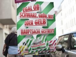 Konzept und Ideenentwicklung diverse Plakatmotive und Werbesprüche anlässlich der Bundestagswahl.