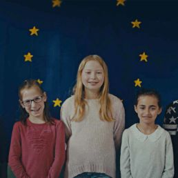 Haltungskommunikation der Deutschen Bahn. Mit einem Onlinefilm wurde auf die Europawahl aufmerksam gemacht, indem Kinder ein wunderschönes eigens für den Spot entwickeltes Lied eindrucksvoll performen.